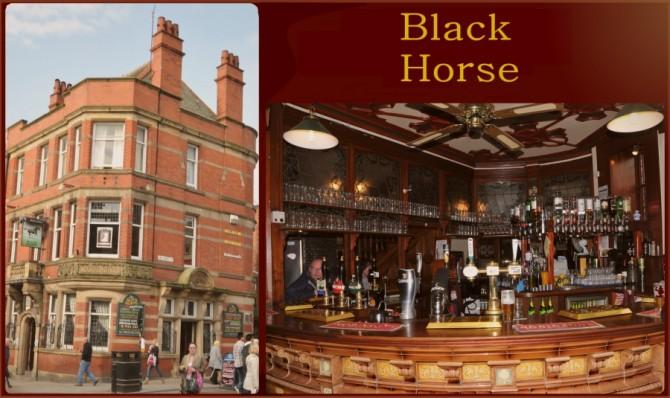 Blog Preston - Black Horse Pub Interior & Exterior