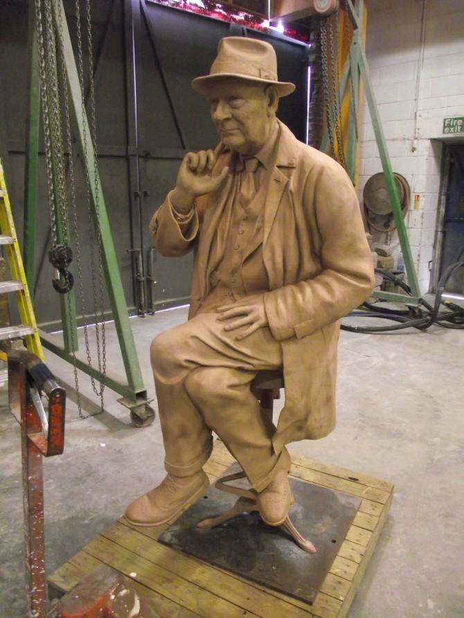 Infamous Preston artist strikes bronze with latest sculpture | Blog