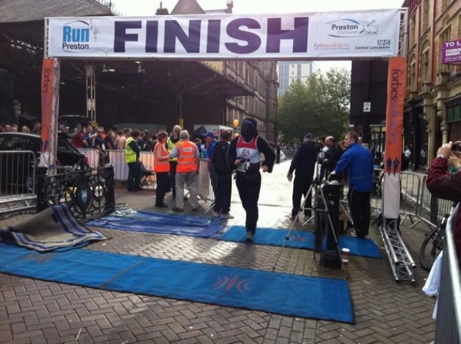 run preston 2011 finish line