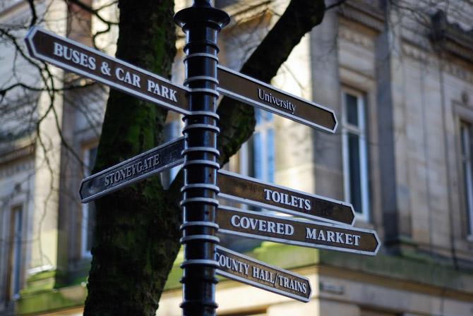 sign in preston city centre