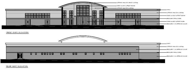 plans for wedding hall on harcross yard