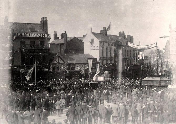 guild trades procession in 1882