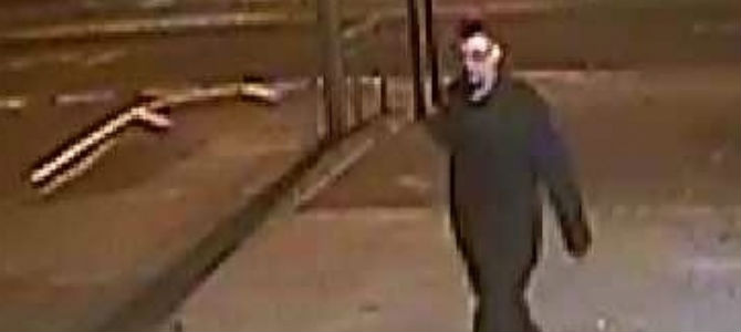 A man seen in the area who police would like to speak to