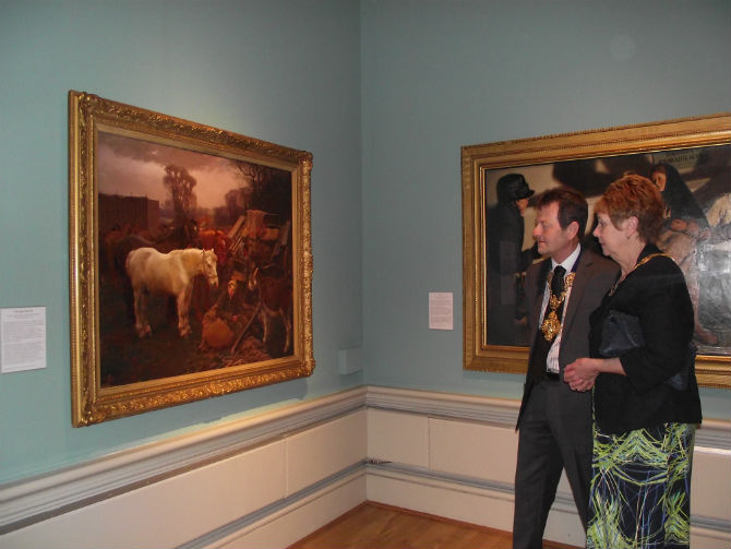 mayor at harris gallery