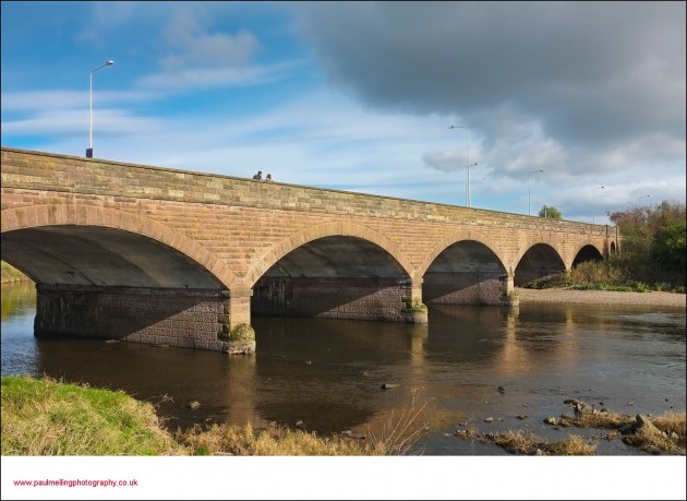 bridge over the ribble