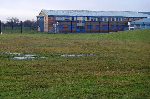 Fields behind the Ribbleton campus