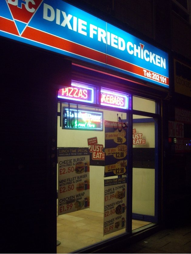 Dixie Fried Chicken on Church Street has been called in for a review of its licence