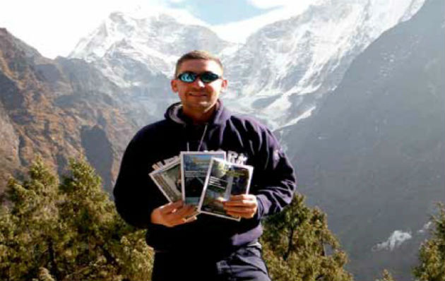 The Preston Magazine at Everest base camp