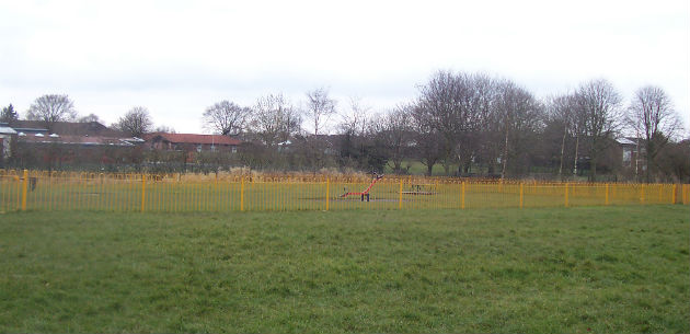 Unloved: Residents want to see the Levensgarth Park in Sharoe Green improved