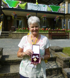 Ann Loan has been recognised for her contribution to the hospice
