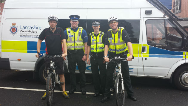 PCSO Matt Witte, PCSO Jordan Gorrell, PC Martin Mason and PC Julian Andrews will take on the challenge with colleagues