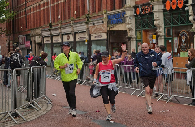 Runners taking part in the 2012 Guild version of Run Preston