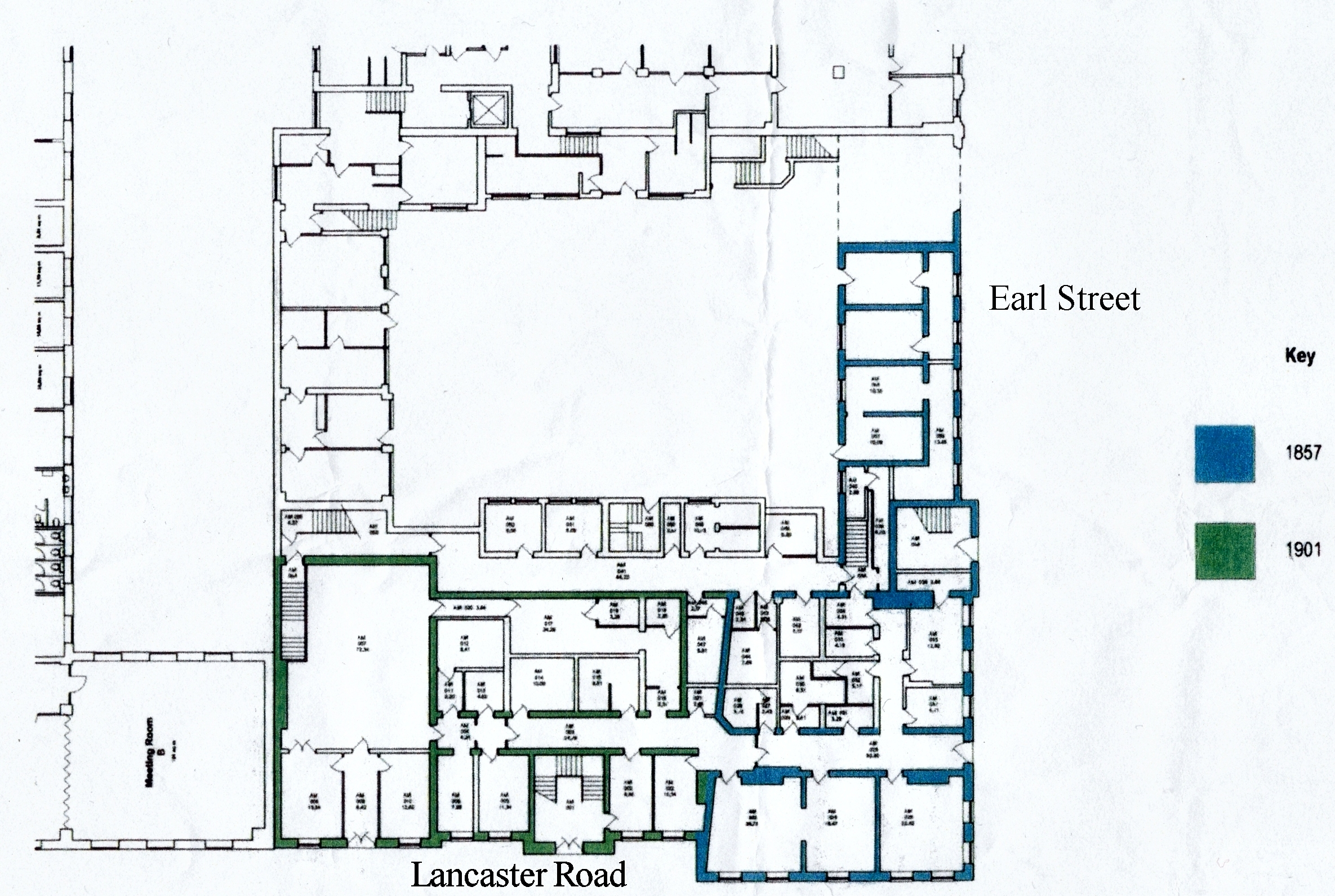 Amounderness House Plan Level 1