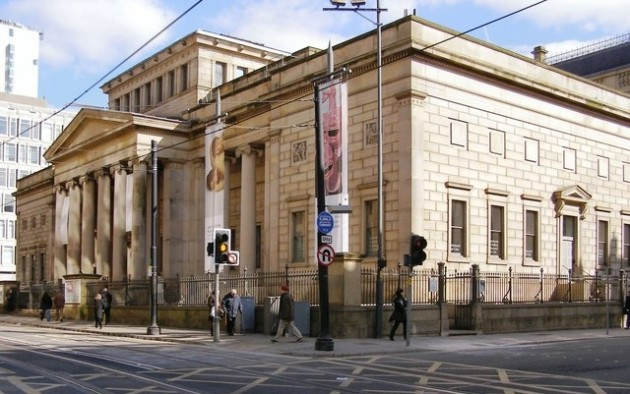 Charles Barry's Manchester City Art Gallery by David Dixon