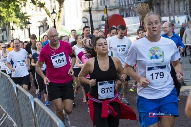 Runners taking part in last year's Run Preston