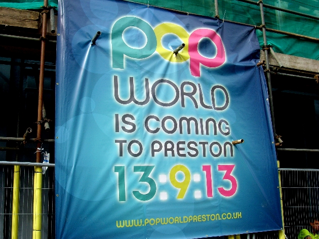 Recently refurbished Popworld has a number of nominations