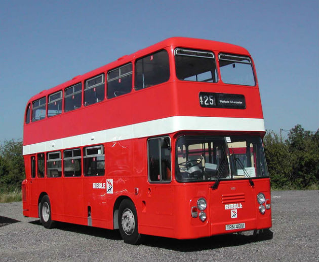 Remember the Ribble Bus? Forget London's red buses....