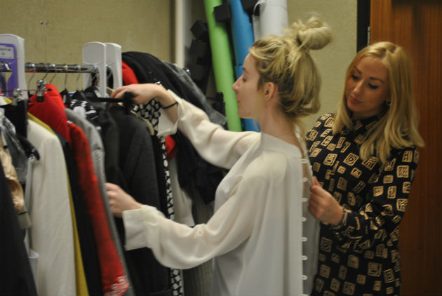 Students have been scouring the 12 St Catherine's charity shops for outfits