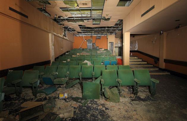 The former cinema theatre