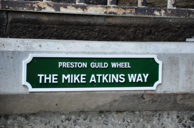 Header Page With Mike Atkins Guild Wheel Plaque