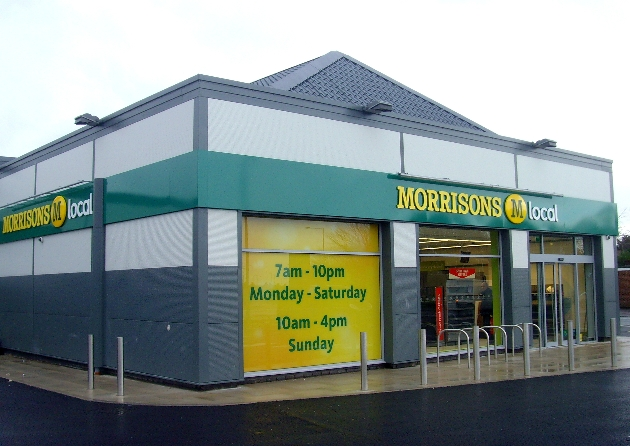 The new Morrisons Local in Ashton