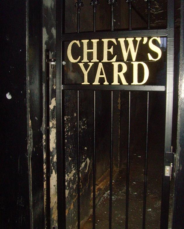 chews yard