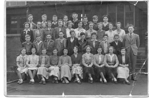 Fishwick Secondary, 1952-53. Form 4B