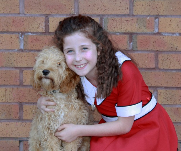 """""""Annie"""" - Played by Sofia DiMeo-Smith"""