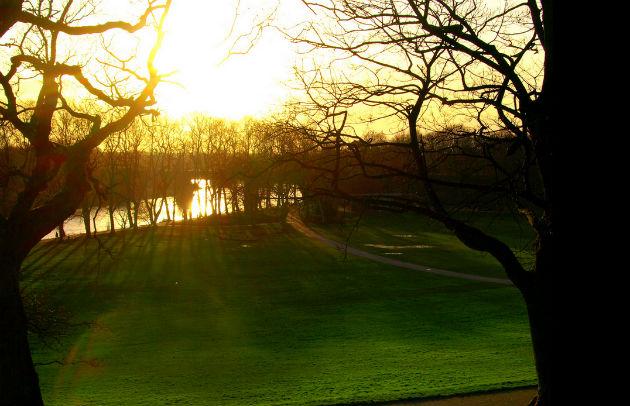 Drainage works in Avenham Park should reduce flooding