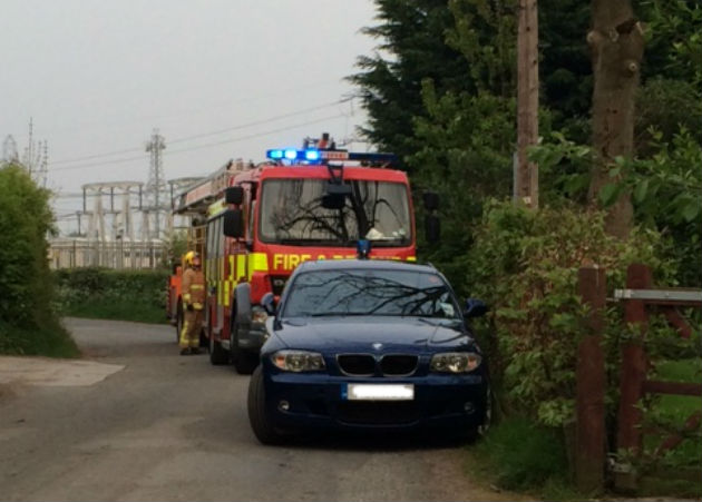 Roof Of Penwortham House Goes Up In Flames Blog Preston