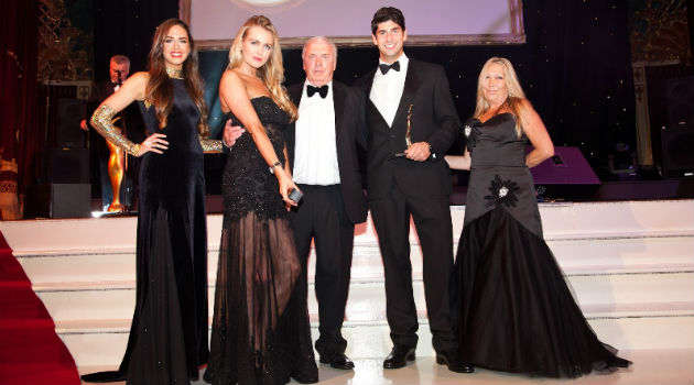 Soap Media collecting their award for e-business of the year in 2013