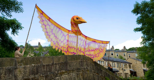 A sun bird will hover above Winckley Square