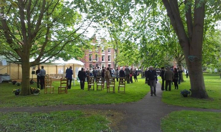 The Hangout event in Winckley Square