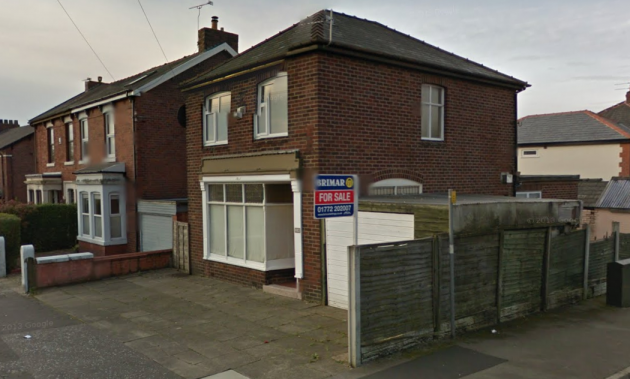 The property on Black Bull Lane which could become a salon