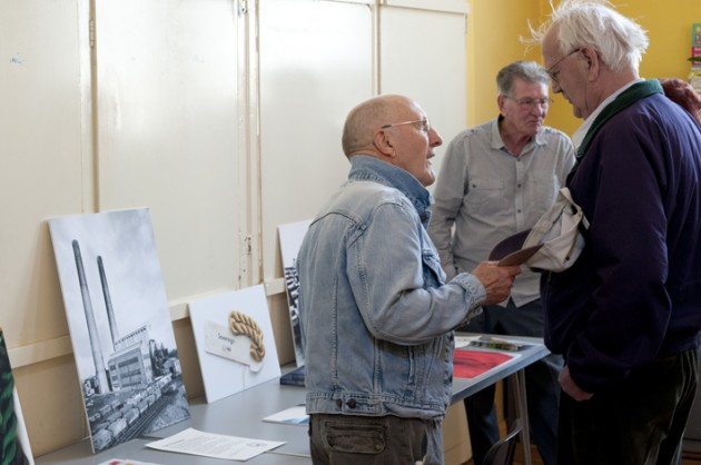 Former workers at one of the previous Courtaulds events