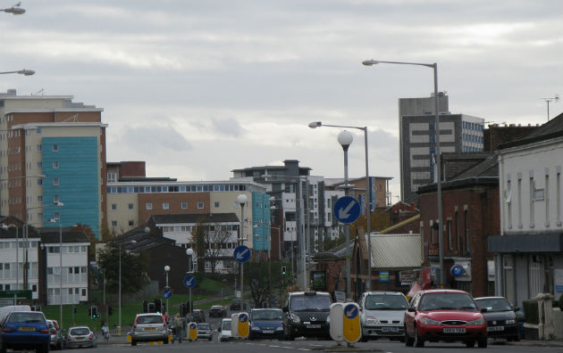 The skyline of Moor Lane has changed dramatically in recent years