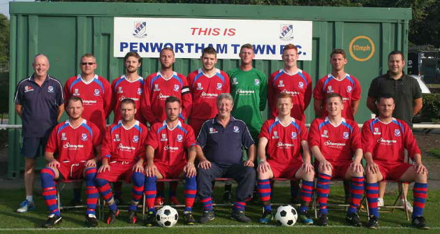 Penwortham Town's seniors Saturday side