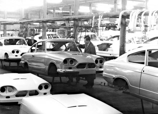 Bond Cars Ltd., India Mill, New Hall Lane, Preston 1964