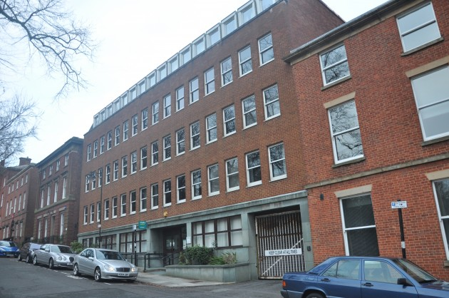 No.8 Charles House Winckley Square (Site Of Former House Of John Dalton)