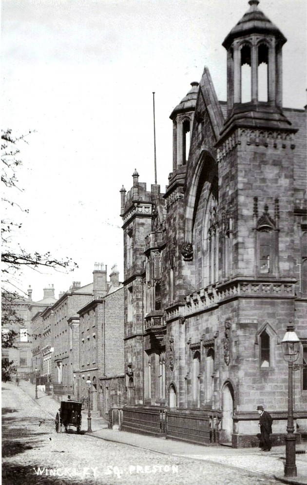 The Winckley Club & The Literary and Philosophical Institution of 1846