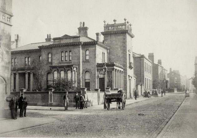 Winckley Square, Preston 1862 (Former Italian-style villa of William  Ainsworth)