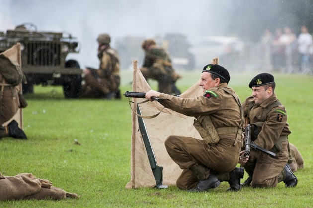 A battle re-enactment is one of the events planned during the day