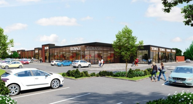 The Eastway development would include a number of retailers and a gym