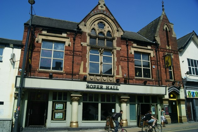 Roper Hall on Friargate. Image credit Shabbagaz