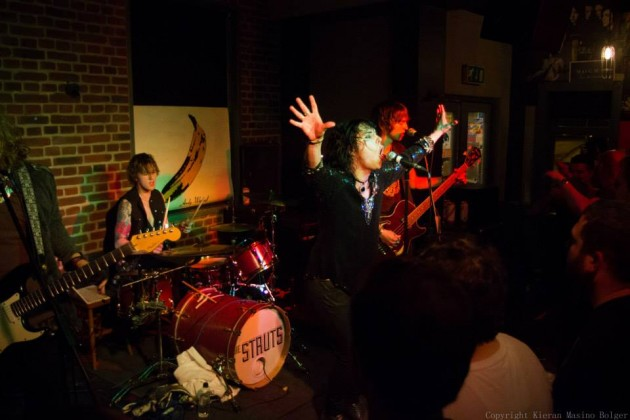 The Struts performing at The Ferret