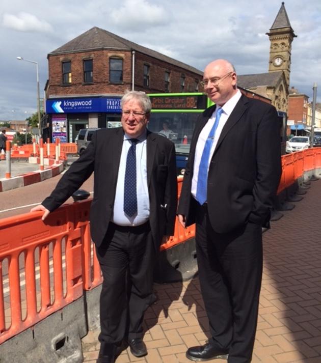 The Rt Hon Patrick McLoughlin MP in Preston