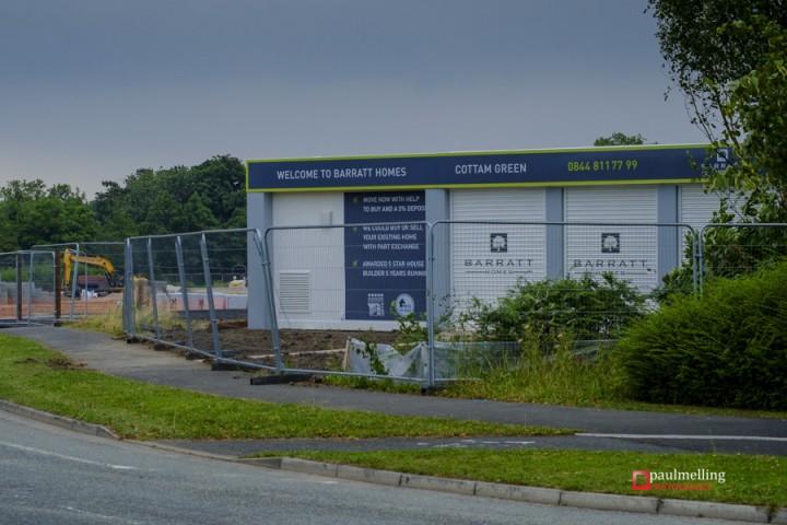 Cottam Green is the Barratt Homes development Pic: Paul Melling