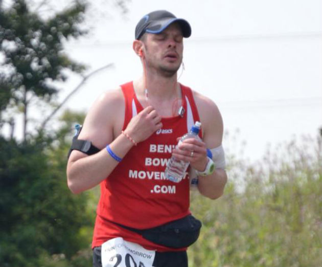 Ashworth has decided to do an additional marathon