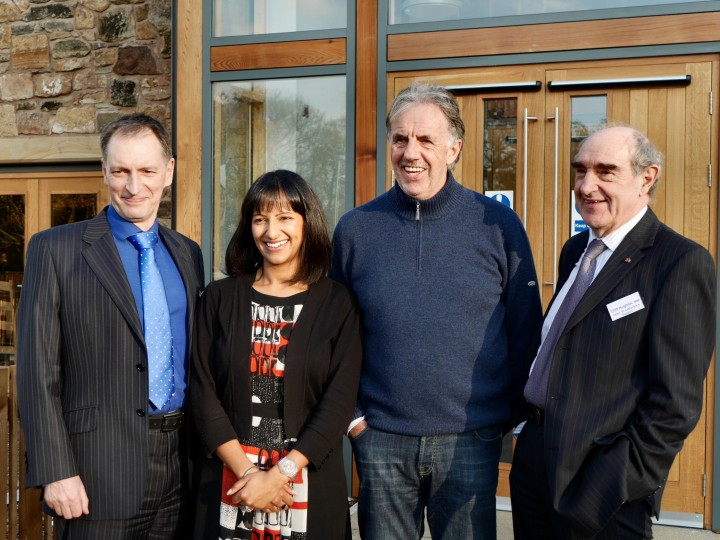 St. Catherine's Mill Cafe Opening Day 18 November 2014 10