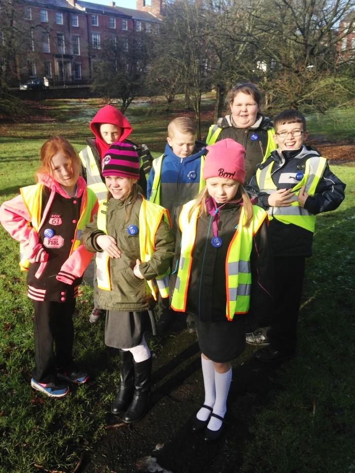 Children from Grange Primary School, Preston: Click the picture to read the article